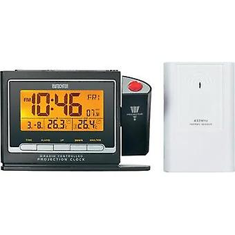 Radio Alarm clock digital Eurochron EFP 3900 Black