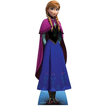 Anna de recorte de cartón Mini Disney congelado / pie