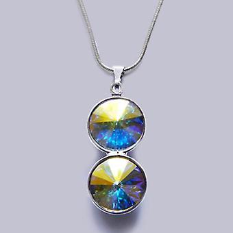 Collier pendentif avec cristaux Swarovski PMB 3.6