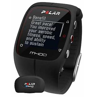 Polar Unisex M400 Bluetooth GPS (Black with HR) Activity Tracker 90051341 Watch