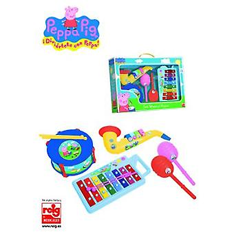 Reig September Xylophone, Drum, Saxophone And Maracas Peppa Pig
