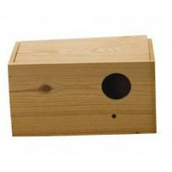 Yagu Horizontal lovebird nest Wood