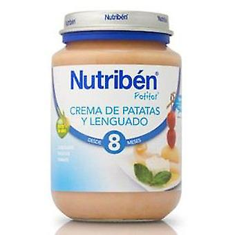 Nutribén Creamed potatoes and Flounder 200 G (Enfance , Alimentation , Petits-pots)