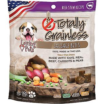 Totally Grainless Sausage Bites 6oz-Beef Stew LP5319