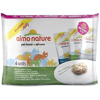 Almo nature Wet Food Cat Pack Classic Mix Tuna (Cats , Cat Food , Wet Food)