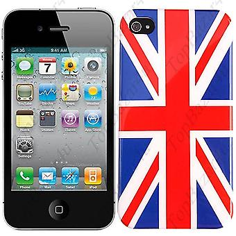IPhone Cover 4/4 s-Flagge UK