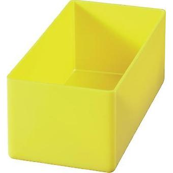 Alutec 622200 Yellow Insert Compartment For Organiser Boxes