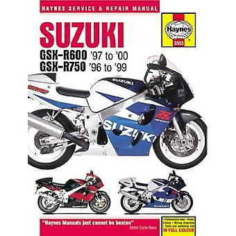 Suzuki GSXR600  750 Motorcycle Repair Manual 9781785213021 by Anon