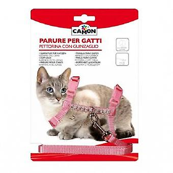 Camon Cat Harness & Leash Nylon 10 mm
