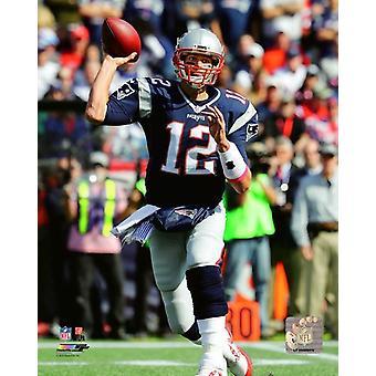 Tom Brady 2016 Action Photo Print