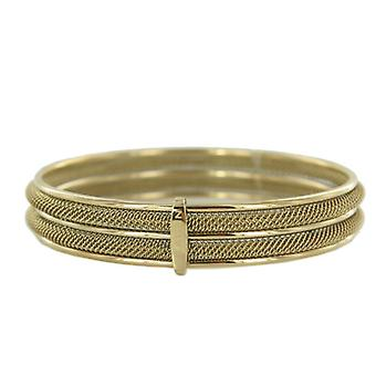 Skagen ladies Bangle Bracelet Milanaiseband gold JGSG029M
