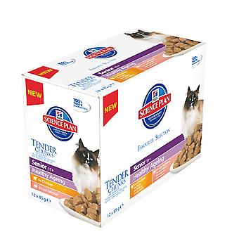 Hill's Science Plan Feline Senior 11+ Healthy Ageing Favourite Selection Multipack 12x85g