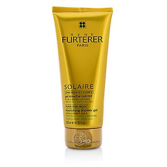 Rene Furterer Solaire Nourishing Shower Gel with Jojoba Wax (Hair and Body) 200ml/6.76oz