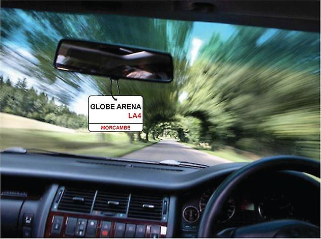 Morecambe / globo via Arena segno Car Air Freshener