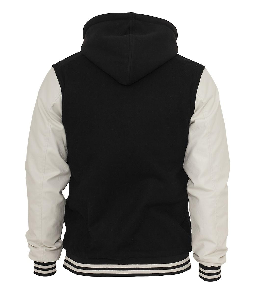 Urban classics hooded oldschool College jacket