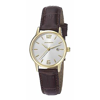 Pierre Cardin ladies watch wristwatch JUSSIEU leather PC106732F07