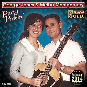Jones, George / Montgomery, Melba - Party Pickin [CD] USA import