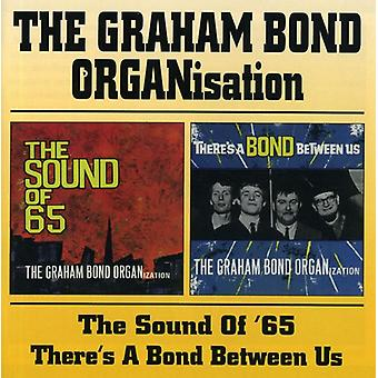 Graham Organization Bond - Sound of 65/There's a Bond Between Us [CD] USA import