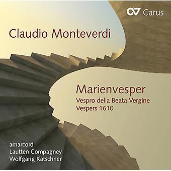Monteverdi / Amarcord / Katschner - importación de Estados Unidos Marienvesper [CD]