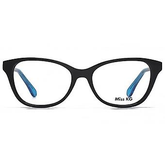 Miss KG Delia Preppy Cateye Brille In schwarz