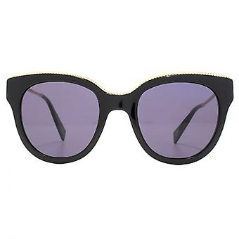 Marc Jacobs Metall Twist Tempel Detail Cateye Sonnenbrillen In schwarz