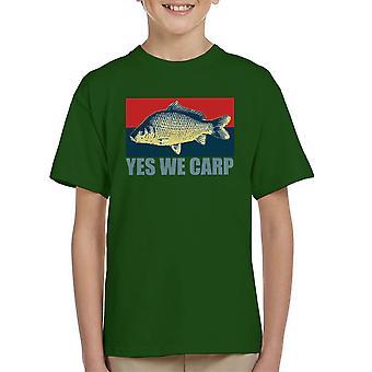 Ja Carp We Kid's T-Shirt