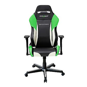 DX Racer DXRacer Drifting Series OH/DM61/NWE High-Back Desk Chair Boss Office Chair PU Chair(Green)