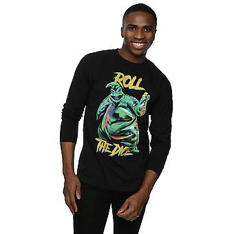 Disney Men's Nightmare Before Christmas Oogie Boogie Dice Long Sleeved T-Shirt