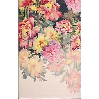 Maximil Pink Woven Floral Rugs - Ted Baker 57902