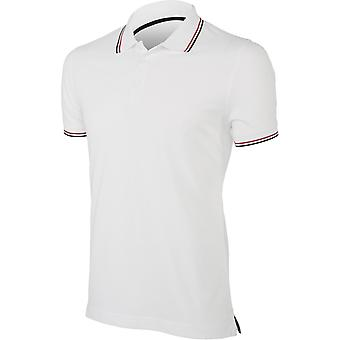 Kariban Mens Contrast Short Sleeve Polo Shirt