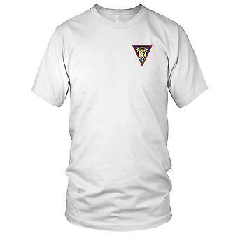 E.U. Estação Naval na metade da Marinha do Pacífico Norte bordada Patch - Mens T-Shirt