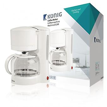 König Coffee machine 870 W 11-Cup White