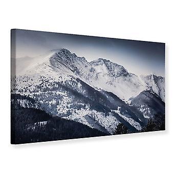 Canvas Print Switzerland Mountains