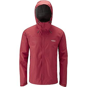 **SALE**Rab Mens Downpour Jacket Ricochet (Small)