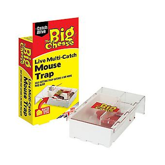 STV International The Big Cheese Live Multi-Catch Mouse Trap