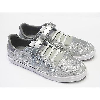 Hummel Stadil Slim Silver Glitter Casual Shoes