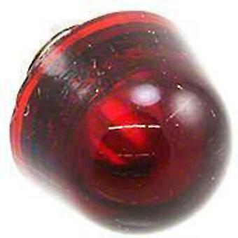 Protector lens Red, Transparent Dialight 128-0931-003