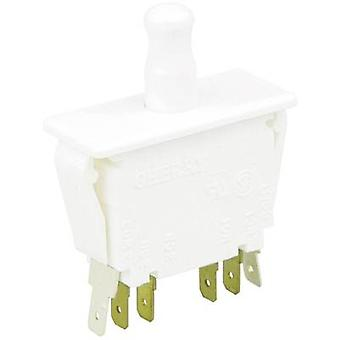 Pushbutton 250 V AC 10 A 2 x On/(On) Cherry Switches