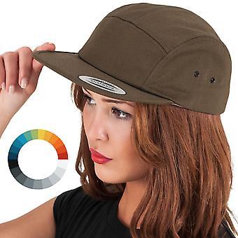 Classic JOCKEY 5-Panel Cap unisex Snapback Cap