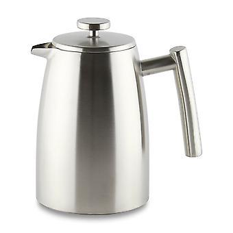 Кафе Ole 800 мл Белмонт Кубок 6 двойной стеной Cafetiere чайник атласная