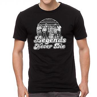 Sand legender mænd sort T-shirt