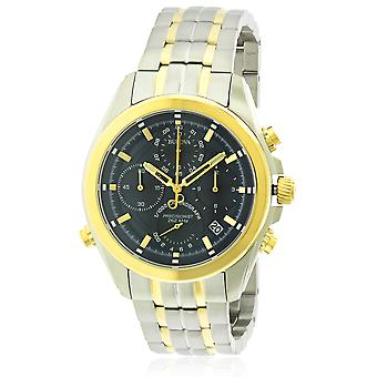 Bulova acciaio inox Two-Tone Cronografo Mens Watch 98B276