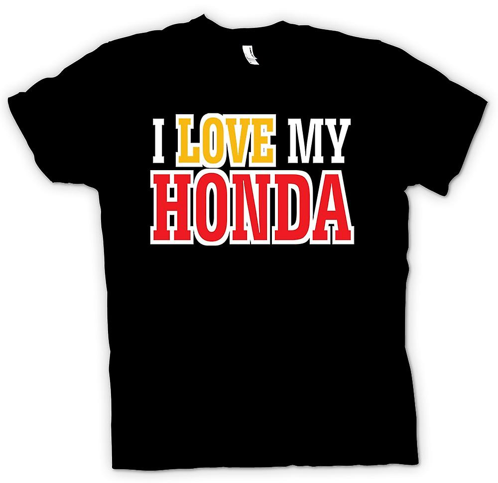 Kids T-shirt - I Love My Honda - Car Enthusiast