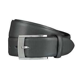 LLOYD Men's belt belts men's belts leather belt grey 4040