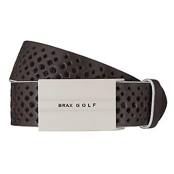 Cintura di BRAX GOLF cintura mens cintura in pelle marrone 6261