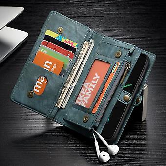 CaseMe case for Apple iPhone X / XS 5.8 purse + protective case + case Blue