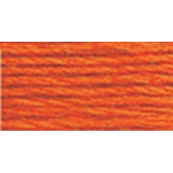 DMC 6-Strand Embroidery Cotton 8.7yd-Burnt Orange