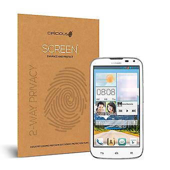 Celicious Privacy 2-Way Anti-Spy Filter Screen Protector Film Compatible with Huawei Ascend G610