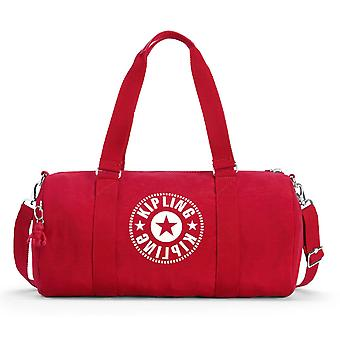 Kipling Onalo Duffle Bag - Lively Red