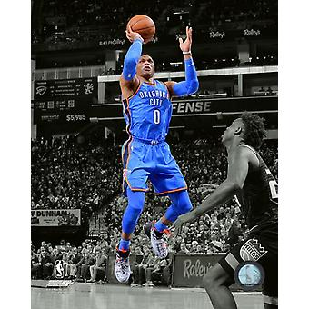 Russell Westbrook 2017-18 Spotlight Action Photo Print